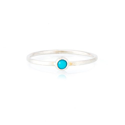 Sweet fine turquoise ring from Ana Dyla