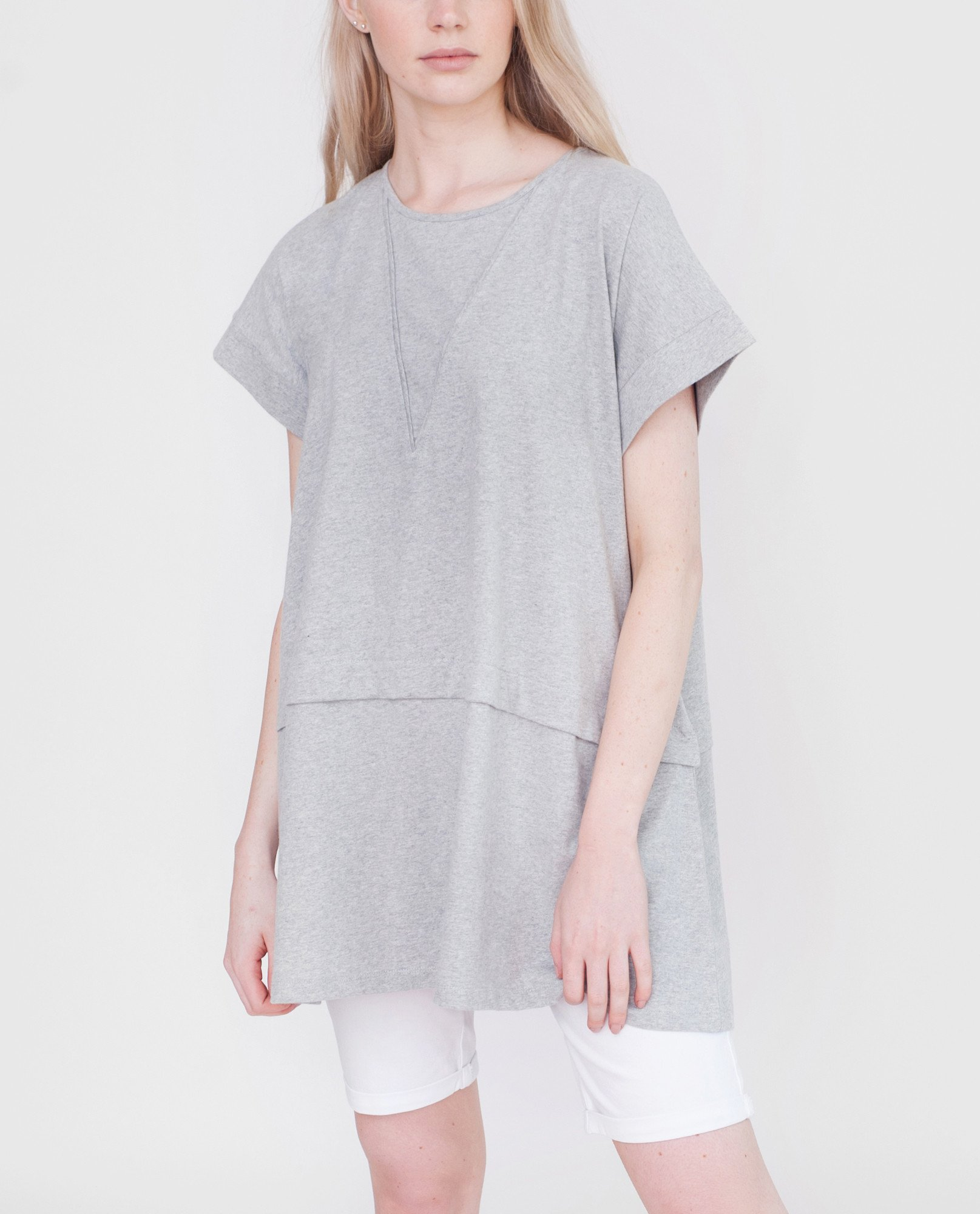 RILEY Organic Cotton Tunic Top from Beaumont Organic