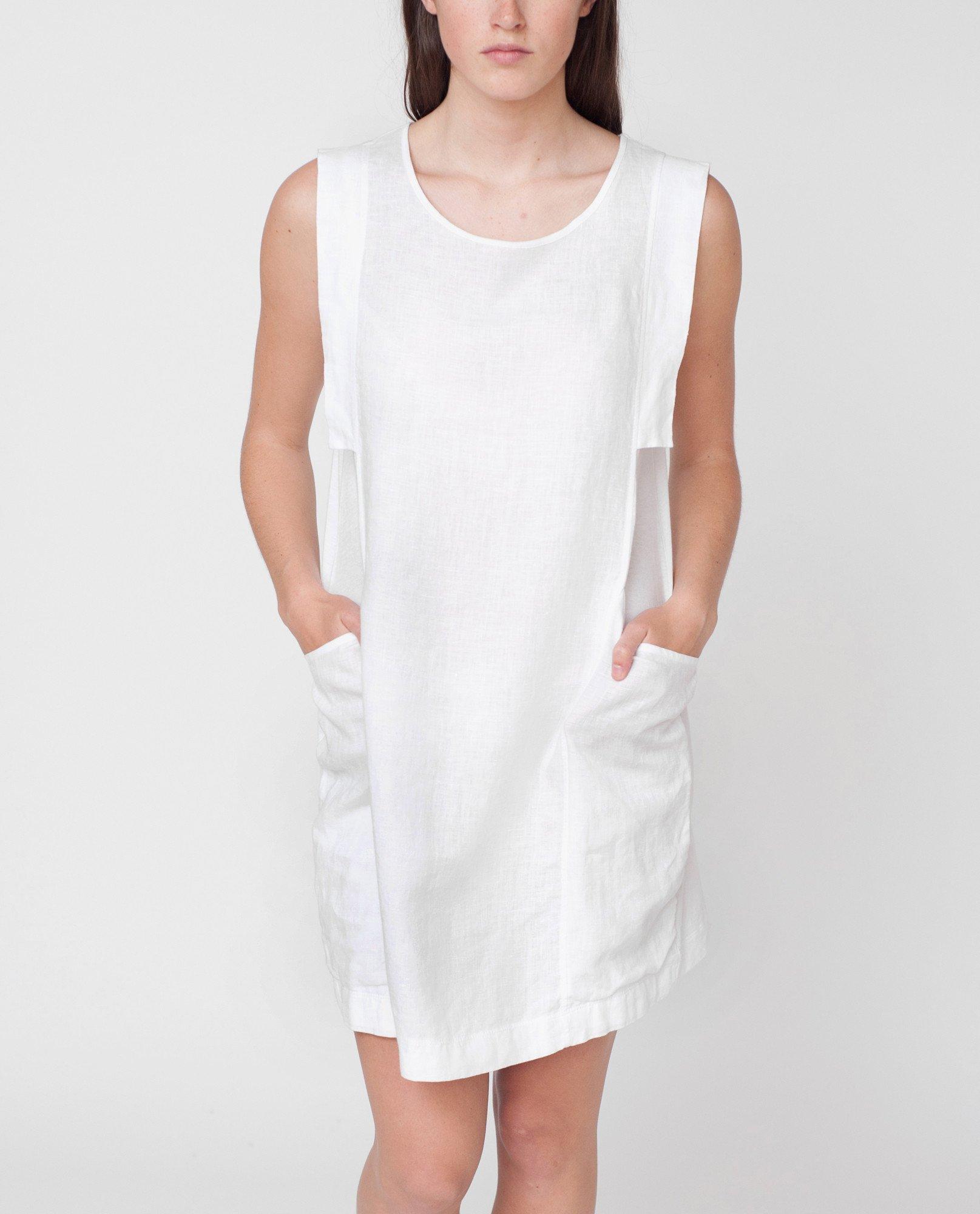JESS Organic Cotton And Linen Dress from Beaumont Organic