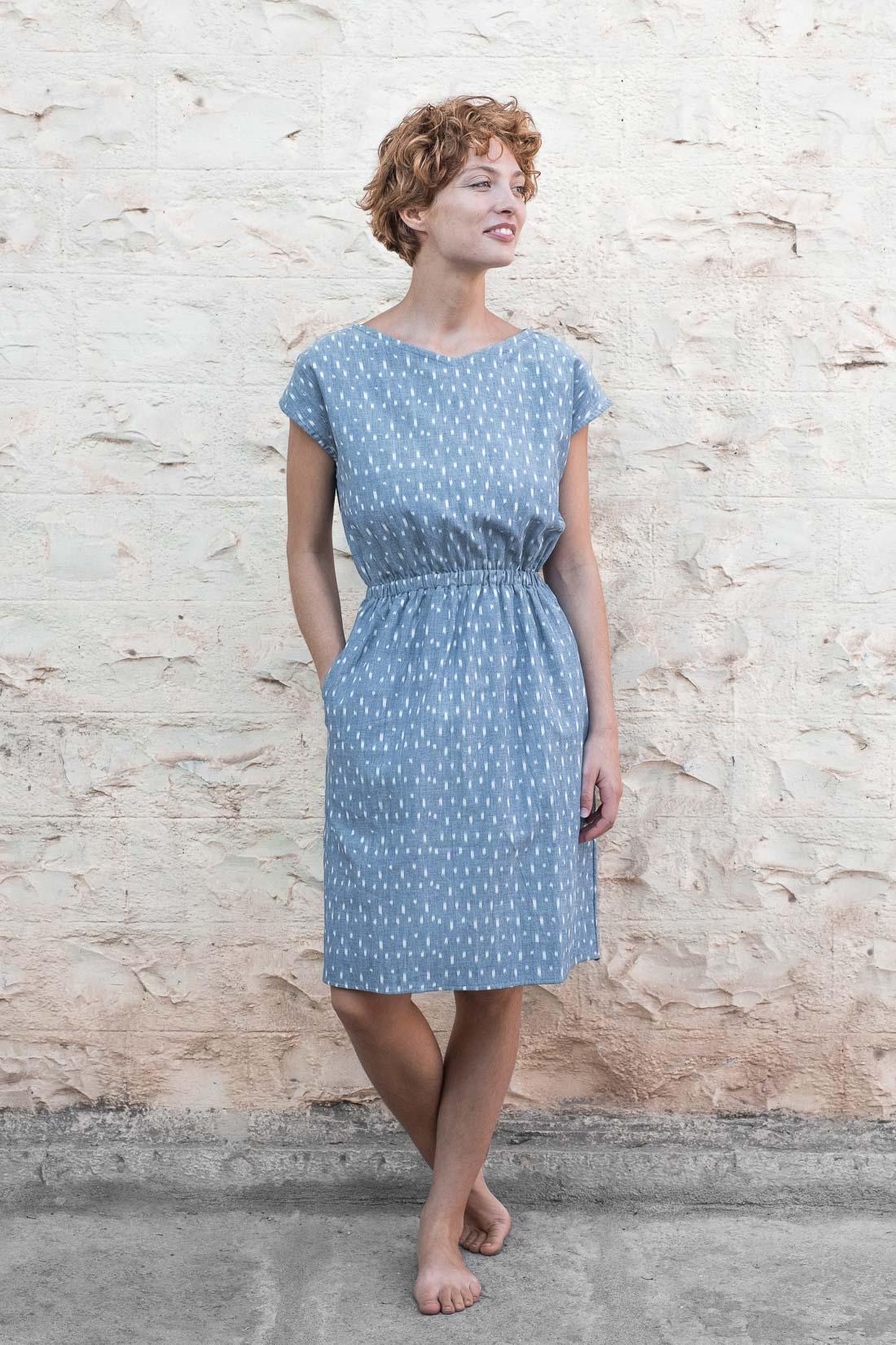 Dress Kamala Ikat from Jyoti - Fair Works