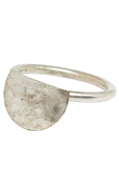 Semi Circle Ring in Silver from People Tree