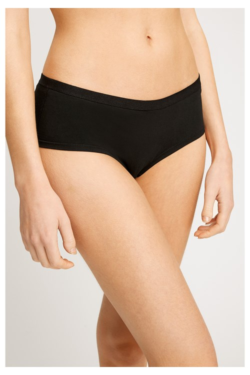 Black Low Rise Shorts from People Tree