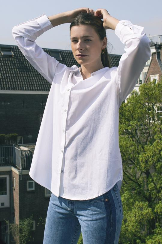Classic shirt white from The Green Labels